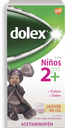 Dolex Jarabe 90 ml 2+(Pack x 8)