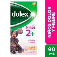 Dolex Jarabe 90 ml 2+(Pack x 8)
