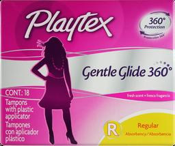 Tampones Playtex Gentle Glide Regular x18 und