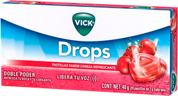 Pastillas Cereza Vick