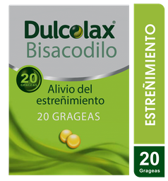 Dulcolax X 20 Grageas