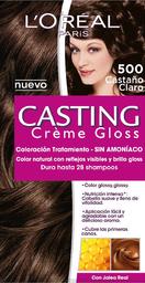 Tinte LOréal Paris Casting Creme Gloss Castaño Claro 500