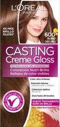 Tinte LOréal Paris Casting Creme Gloss Rubio Oscuro 600