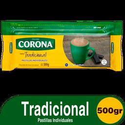 Chocolate Corona en Pastilla