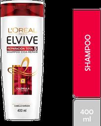 Shampoo Elvive Reparación Total 5