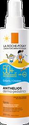 Spray Anthelios La Roche-Posay Dermopediatrico Fps 50+ 200 Ml
