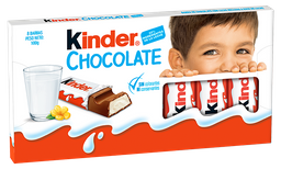 Chocolate Kinder Chocolate X8Und - 100Gr