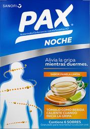 Pax Panela y Limón X 6 Sobres