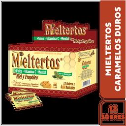 Mieltertos Mentholyptus pastillas masticables x 12 Sobre