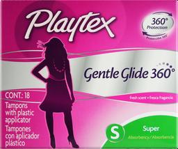 Tampones Playtex Gentle Glide Super x18 und