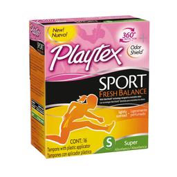 Tampones Platey xSport Fresh Balance Super x16 und