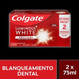 Crema Dental Colgate Luminous White Brilliant