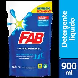 Fab Detergente Líquido Lavado Perfecto