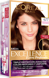 Tinte LOréal Paris Excellence Creme Chocolate Profundo 677