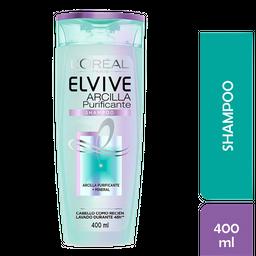 Shampoo Elvive Arcilla Purificante