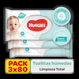 Toallitas Húmedas Huggies One&Done x 240u