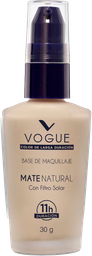 Base Líquida Vogue Mate Natural Natural 30 Gr
