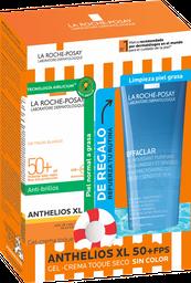 Pack La Roche-Posay Protector Solar Anthelios XL Gel Toque Seco