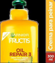 Crema Para Peinar Fructis Amarillo Oil Repair