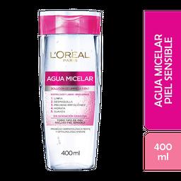 Agua Micelar LOréal Paris Dermo Expertise 400 Ml