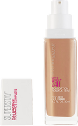 Base Líquida Maybelline Superstay Full Coverage Toffee 330 30 Ml