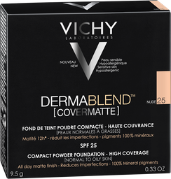 Polvo Compacto Vichy Dermablend [Covermatte] Nude 25 x 9.5 Gr