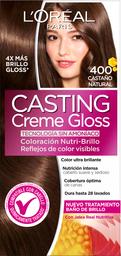 Tinte LOréal Paris Casting Creme Gloss Castaño Natural 400