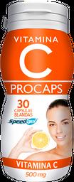 Vitamina C 500Mg Procaps Frasco X 30 Capsulas