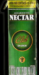 Aguardiente Sin Azucar Verde Nectar 1.5L