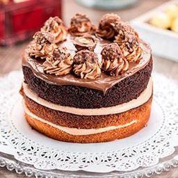 Torta Nutella y Ferrero