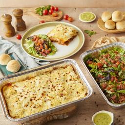 Pack familiar lasagna
