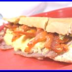 Sándwich con Tocineta