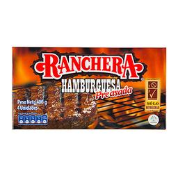 Hamburguesa Preasada Ranchera