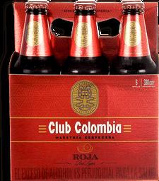 Cerveza Roja SixPack Club Colombia
