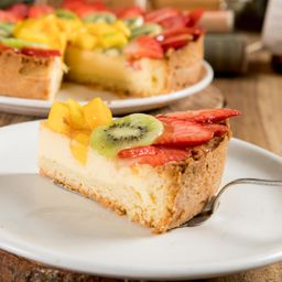 Porción Cheesecake Santa Leña