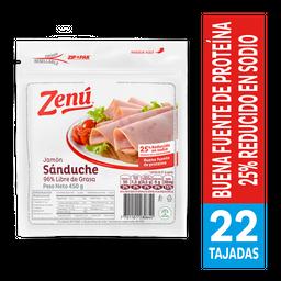 Jamón Sanduche Zenu X 450G