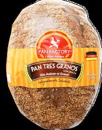 Pan Tres Granos Sin Azúcar Pan Factory