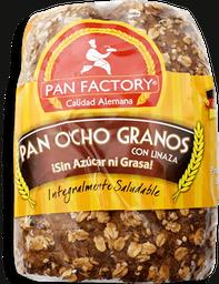 Pan Ocho Granos con Linaza Pan Factory