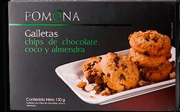 Galleta Chips de Chocolate Coco Pomona