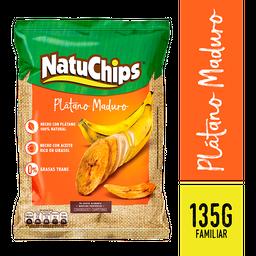 Natuchips Snack Plátano Maduro - - Paquete