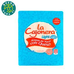 Arepa de Yuca con Queso La Cajonera