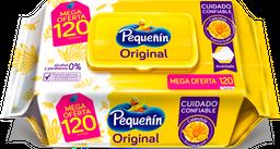 Toallitas Húmedas Pequeñín Original X120 Und Oferta