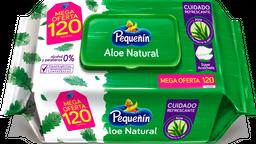 Toallitas Húmedas Pequeñín Aloe X120 Und Oferta