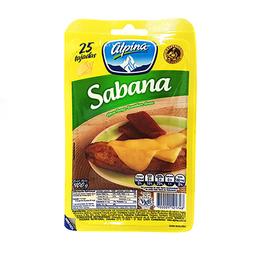 Queso Sabana 25 tajadas