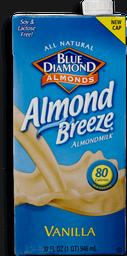 Leche de Almendras Vainilla Blue Diamond