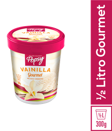 Helado Cremoso Vainilla Gourmet Popsy