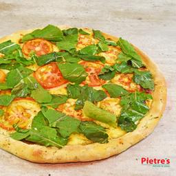 Pizza de Tomate y Albahaca Mediana