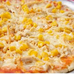Pizza de Pollo y Maíz Mediana