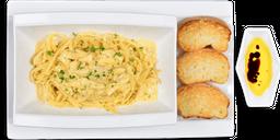 🍝 Pasta Alfredo con Pollo