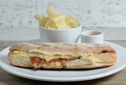 🥪 Sándwich Panino con Lomo de Res